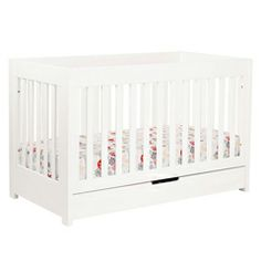 Babyletto Mercer Convertible Crib White BLM6801W
