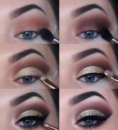If you want to transform your eyes and increase your appearance, finding the very best eye make-up recommendations can help. You want to make sure you put on make-up that makes you look even more beautiful than you already are. Wedding Makeup Tips, Natural Wedding Makeup, Eye Makeup Tips, Makeup Goals, Makeup Inspo, Skin Makeup, Eyeshadow Makeup, Natural Makeup, Makeup Inspiration