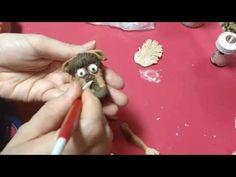 كعكة ديزني فروزن - كيفية عمل شخصية سفين الأيل من عجينة السكر او الفوندان - YouTube