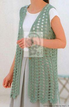 Gilet Crochet, Crochet Vest Pattern, Granny Square Crochet Pattern, Crochet Jacket, Crochet Cardigan, Crochet Scarves, Crochet Clothes, Crochet Hats, Crochet Slipper Boots