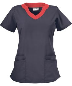 UA194C Butter-Soft Scrubs by UA™ Women's Scallop Neck Scrub Top http://www.uniformadvantage.com/pages/prod/ua194c-scallop-neck-top.asp?frmColor=GSPIC