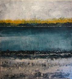 """Zenta II,"" original abstract painting by artist  Marina Troy (USA) available at Saatchi Art #SaatchiArt"