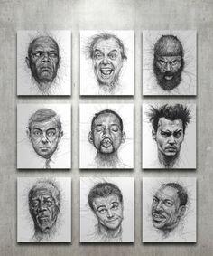 getekende-gezichten-beroemdheden-1