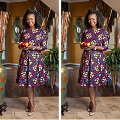"It's quite nice when you can rely on a dress. You rely on it for weddings, for dinner, for an event, to go to work even. It can be more reliable than some boyfriends."" Ankara are always-reliable fabric when perfectly sown to flatter your perfectly endowed figure beloved by some..."