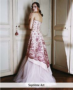 Cream colored wedding dress | Gorgeous Wedding Dresses | Pinterest ...