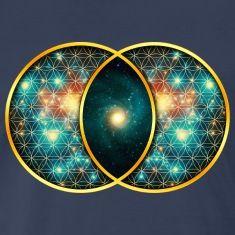 Vesica Piscis Galaxy - Sacred Geometry