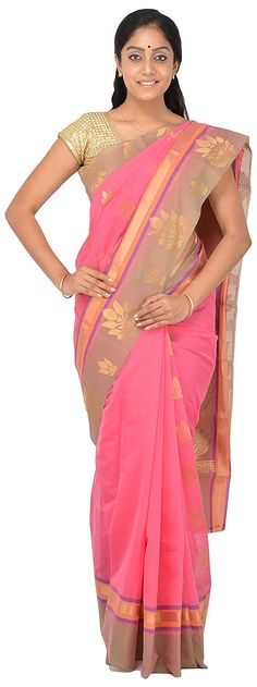POTHYS Women's Silk Cotton Saree (PDS519, Pink Colour): Amazon : Clothing & Accessories  http://www.amazon.in/gp/product/B0166XB1DE/ref=as_li_tl?ie=UTF8&camp=3626&creative=24822&creativeASIN=B0166XB1DE&linkCode=as2&tag=onlishopind05-21  #Pothys #Silk #Sarees