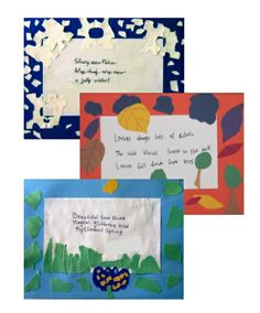Illustrated Haiku for All Seasons - An integrated Writing and Art lesson that includes art-making as an important part of the writing process.