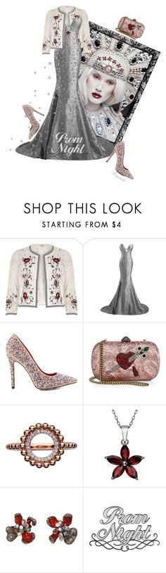 """Perfect Prom Night"" by ragnh-mjos ❤ liked on Polyvore featuring River Island, TaylorSays, Gucci, Links of London and Arunashi"