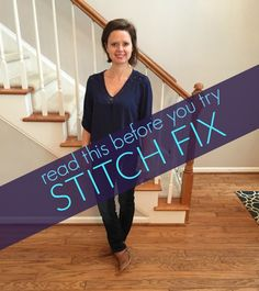 CONSIDERING STITCH FIX? YOU MUST READ THIS FIRST! Five helpful tips to help you decide if it's right for you, AND how to get your money's worth!