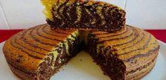 Receita de Bolo Zebra de Cenoura e Chocolate Essa receita e a mais top do site prepare agora!