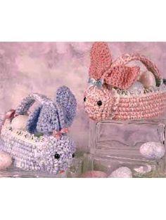 Leuke konijnen mandjes voor pasen!