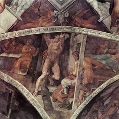 Michelangelo Buonarroti 034 - Gallery of Sistine Chapel ceiling - Wikipedia, the free encyclopedia