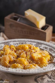 Creamy Butternut Squash Gnocchi #vegetarian #pasta