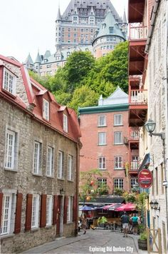 Exploring Old Quebec City