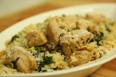 طريقة عمل وصفة معكرونة لسان عصفور مع الدجاج بالثوم | زيتونة