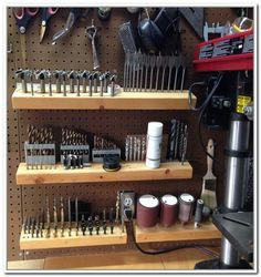 drill bit storage - Google Search
