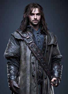 Kili (Aidan Turner) 'The Hobbit' (2012-14) Costume designed by Bob Buck, Ann Maskrey and Richard Taylor.