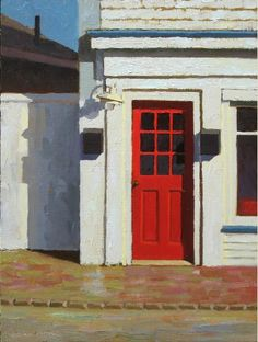 RedDoor Oil Paintings by Paul Schulenburg