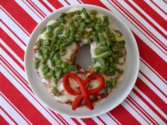 Whole Wheat Bagel Veggie Pizzas recipe