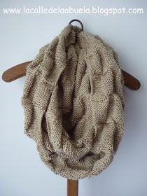 La calle de la abuela: Snood, Infinity scarf...