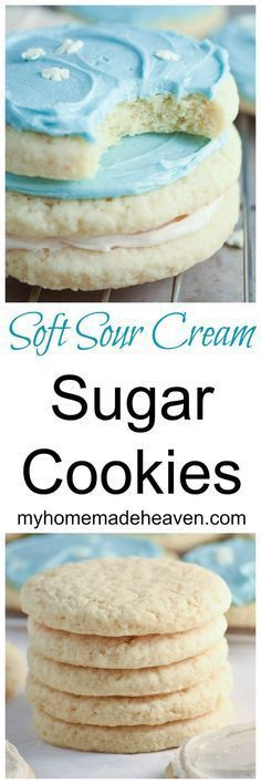 Wow! We just made these and they are SO soft! This recipe is definitely a keeper! Sugar Cookie Recipes, Soft Sugar Cookie Recipe, Lofthouse Sugar Cookie Recipe, Valentine Cookie Recipes, Sugar Cookie Recipe For Decorating, Soft Frosted Sugar Cookies, Sugar Cookies With Sprinkles, Lofthouse Cookies, Cookie Recipes For Kids