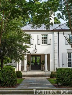 Hamlin residence, Charleston, SC. McAlpine Tankersley Architecture. Welhil Interiors. John Bessler photo in Traditional Home.