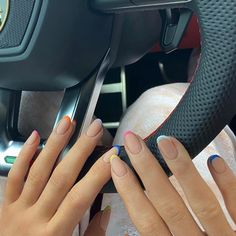 French Tip Acrylic Nails, Fall Acrylic Nails, French Nail Polish, Minimalist Nails, Nail Polish Designs, Nail Polish Colors, Nail Tip Colors, Gel Polish, Nail Tip Designs