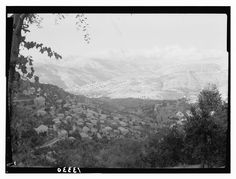 Old Lebanon (Rare pictures) - Page 46 - SkyscraperCity  Dhour le shweir- 1945