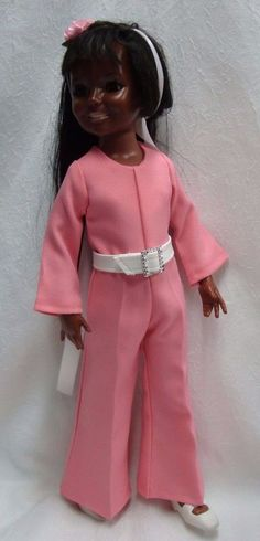 """__ JUMPSUIT__3 pc for vintage 17 1/2"""" Ideal Crissy,Tressy,Brandi or Kerry doll"""