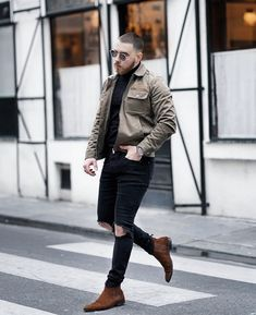 Jean Outfits, Casual Outfits, Men Casual, Boy Fashion, Fashion Outfits, Mens Fashion, Winter Outfits, Bomber Jacket, Hipster
