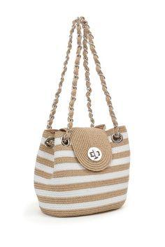 Striped Shoulder Bag by Magid on @HauteLook