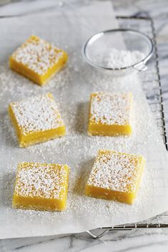 Passion Fruit-Coconut Bars