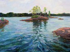 Landscape painting by Photographs and Paintings by Jacquelyn Sloane Siklos who makes her home in Toronto, Canada