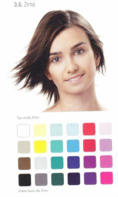 ZIMA paleta kolorów