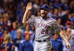 Daniel Murphy - NY Mets - Game 4 NLCS (2015)