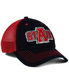 '47 Brand Arkansas State Red Wolves Taylor Closer Cap - Black/Red S/M