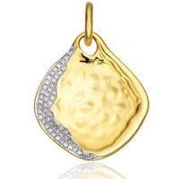 Monica Vinader gold vermeil pendant