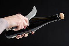 Italian Stainless Steel Champagne Knife - Kaufmann Mercantile