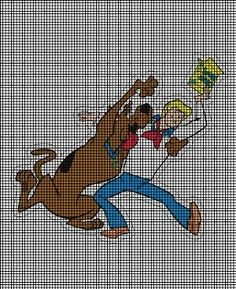 SCOOBY DOO CROSS STITCH PATTERNS | Free Cross Stitch Patterns