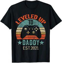Amazon.com : daddy 2021 shirt Boys T Shirts, Tee Shirts, Tees, Tube Top Outfits, Gamer T Shirt, Latest T Shirt, Tee Shirt Designs, Birthday Fashion, Mens Tops
