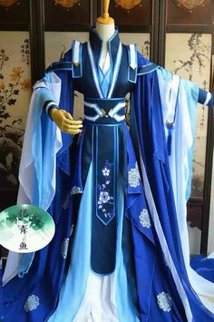 Holy frigga frick this looks awesome Source by ideas fantasy Cosplay Outfits, Anime Outfits, Cool Outfits, Pretty Dresses, Beautiful Dresses, Fantasy Dress, Chinese Clothing, Character Outfits, Traditional Dresses