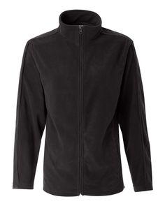 Onyx Black Ladies Micro Fleece Jacket From FeatherLite - 5301