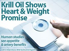 Krill Oil Shows Heart & Weight Promise