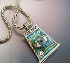Metal and Polymer Clay Art Jewelry by Lizards Jewelry ~ The Beading Gem's Journal