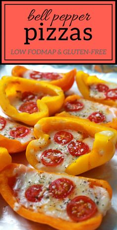Healthy Snacks 389209592796648404 - Bell pepper mini pizzas – Low FODMAP Quick and Easy Snacks E-book – Lauren Renlund MPH RD Source by jamepate Healthy Snacks To Buy, Quick Snacks, Healthy Meal Prep, Clean Eating Snacks, Healthy Eating, Healthy Recipes, Healthy Breakfasts, Healthy Sweets, Food Recipes Snacks