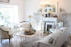 Awesome Shabby Chic Living Room