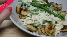 Verse pasta met prinsessenboontjes en witte pens Pasta, Meat, Chicken, Food, Beef, Eten, Meals, Pasta Recipes