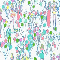 Sunday Spotlight: Life's a Party Lilly Pulitzer Canvas