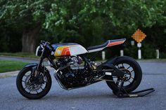 Jaw Dropper: A gnarly 1980s Honda CB900F, customized for the 21st century.